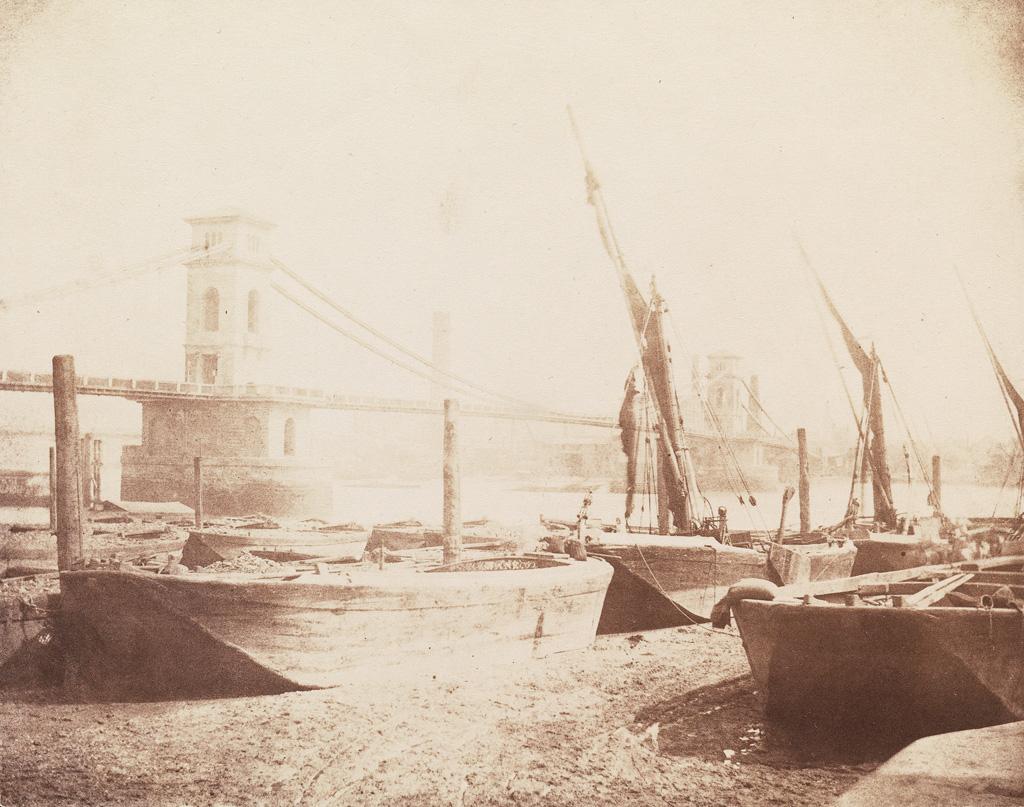 WILLIAM HENRY FOX TALBOT (1800-1877) The Hungerford Suspension Bridge.