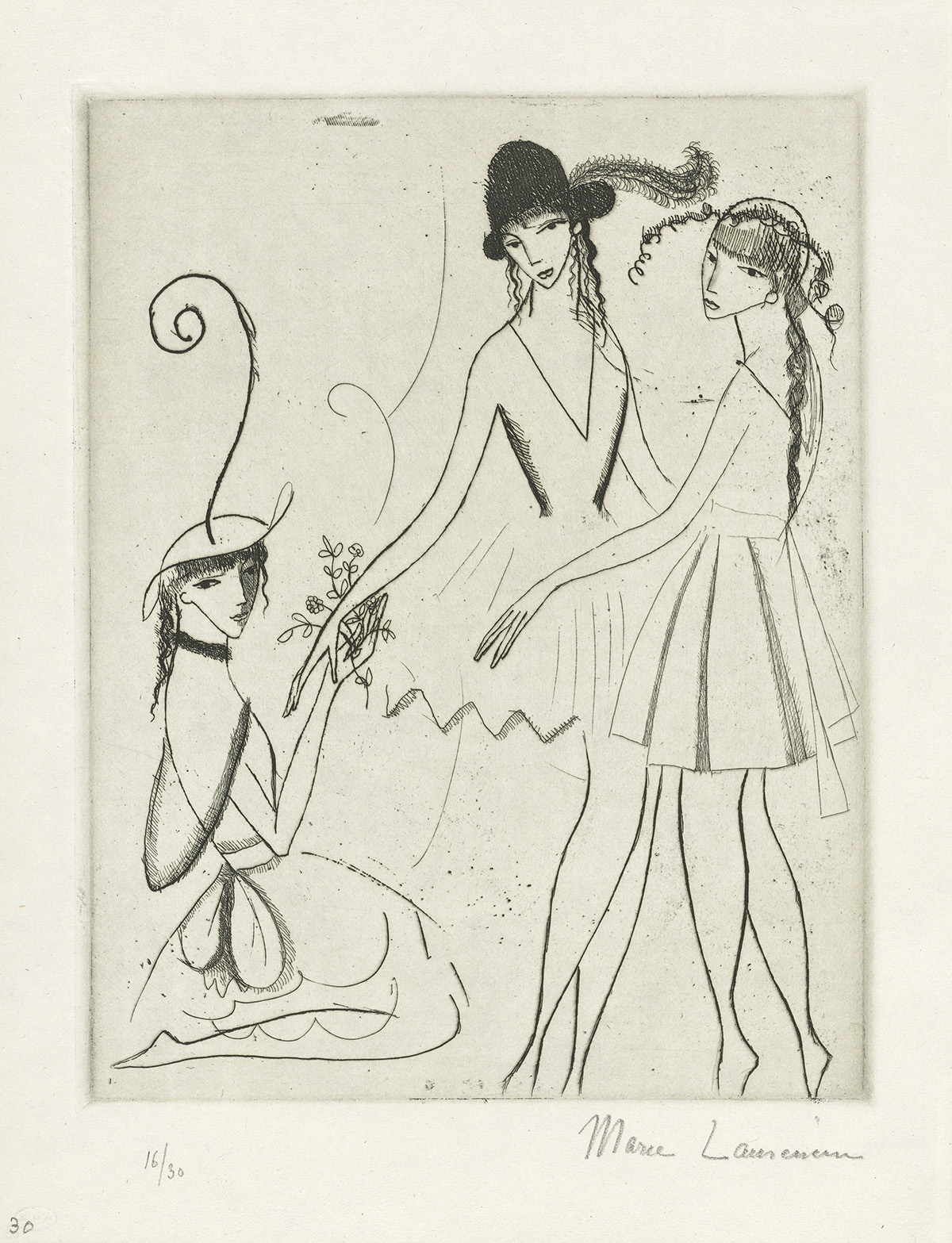 MARIE-LAURENCIN-Iphigénie-(ou-Les-Trois-Danseuses)