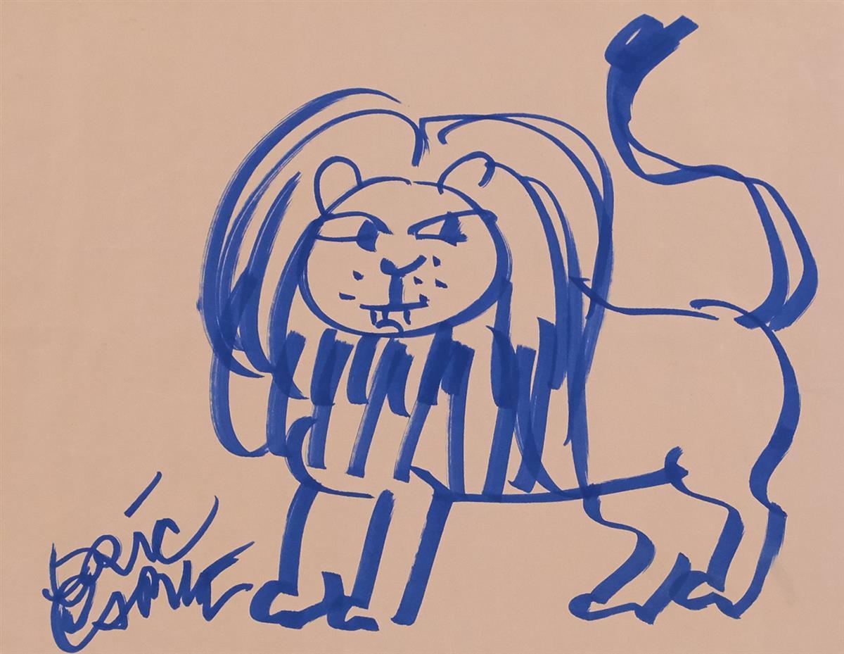 ERIC CARLE. Lion. [CHILDRENS]