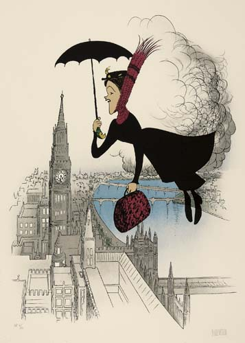 Mary Poppins, Flying Over London