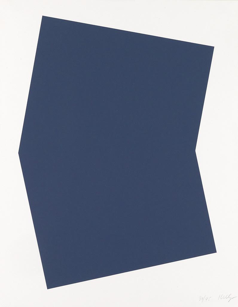 ELLSWORTH KELLY Dark Blue.