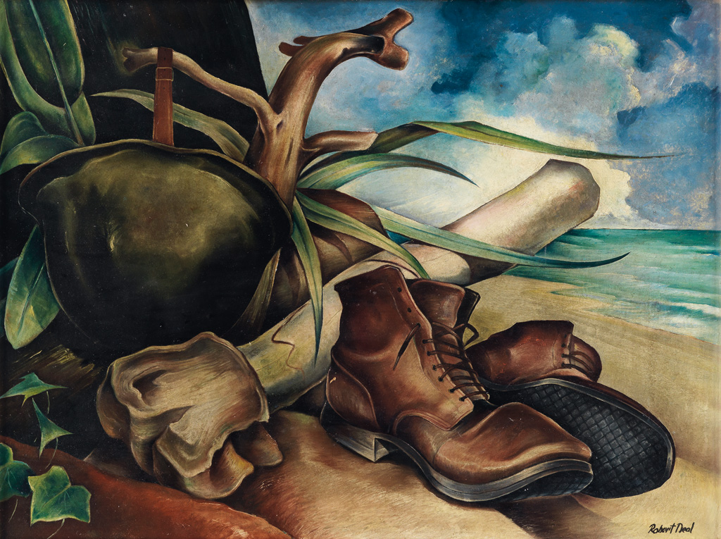 ROBERT NEAL (1916 - 1987) Untitled (Pacific World War II Still Life).