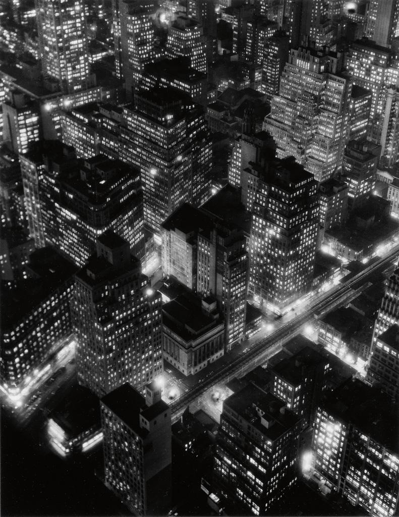 BERENICE ABBOTT (1898-1991) New York at Night.