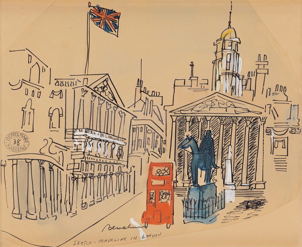 LUDWIG BEMELMANS. Double-Decker Tour of the Royal Exchange.