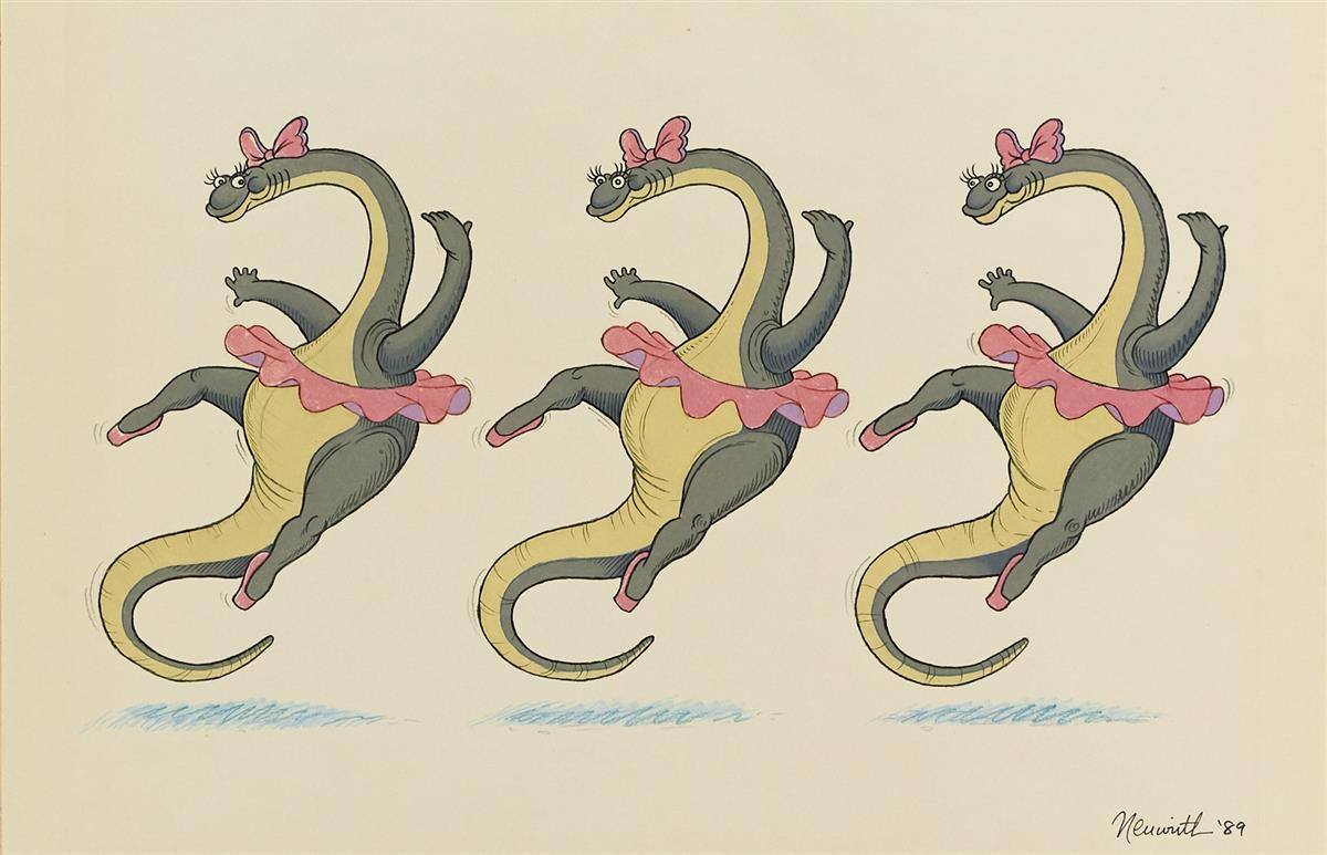 ALLAN-NEUWIRTH-Apatosaurus-Ballet-[CHILDRENS--DINOSAUR]