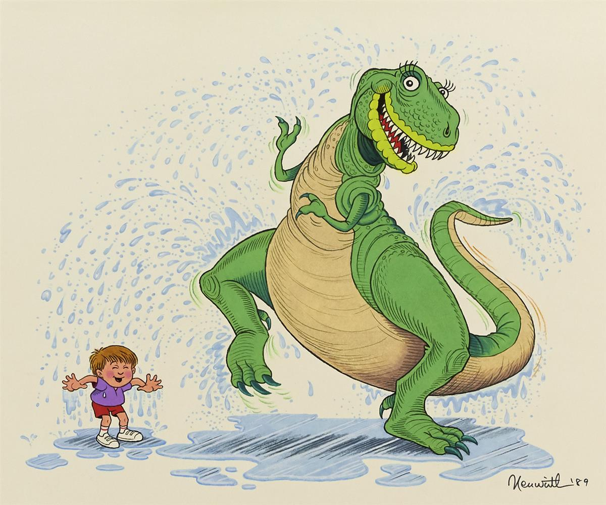 ALLAN NEUWIRTH. Hooray for Dinosaur Day! [CHILDRENS / T-REX / TYRANNOSAURUS]