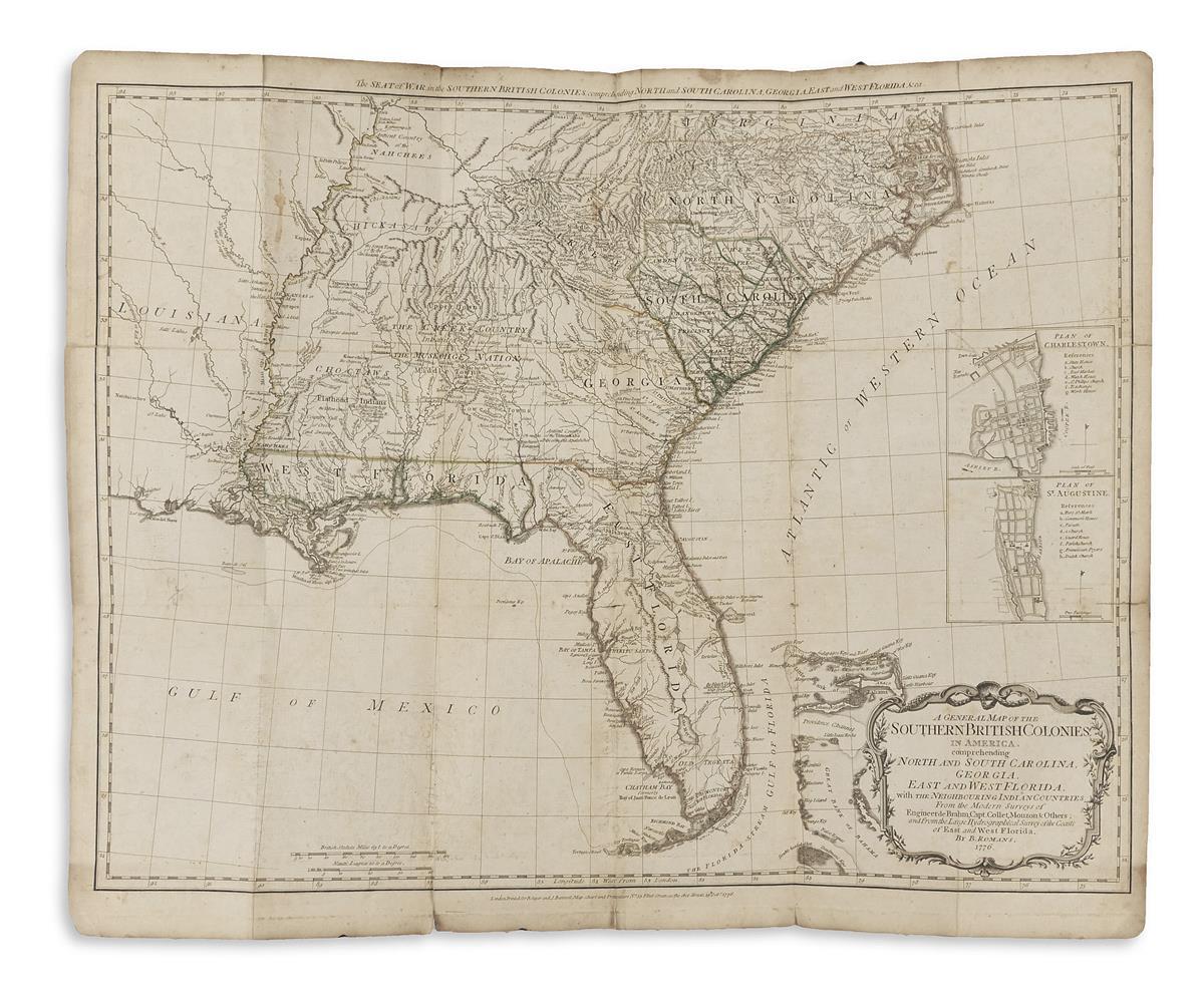 (HOLSTER ATLAS.) Sayer, Robert; and Bennet, John. The American Military Pocket Atlas;