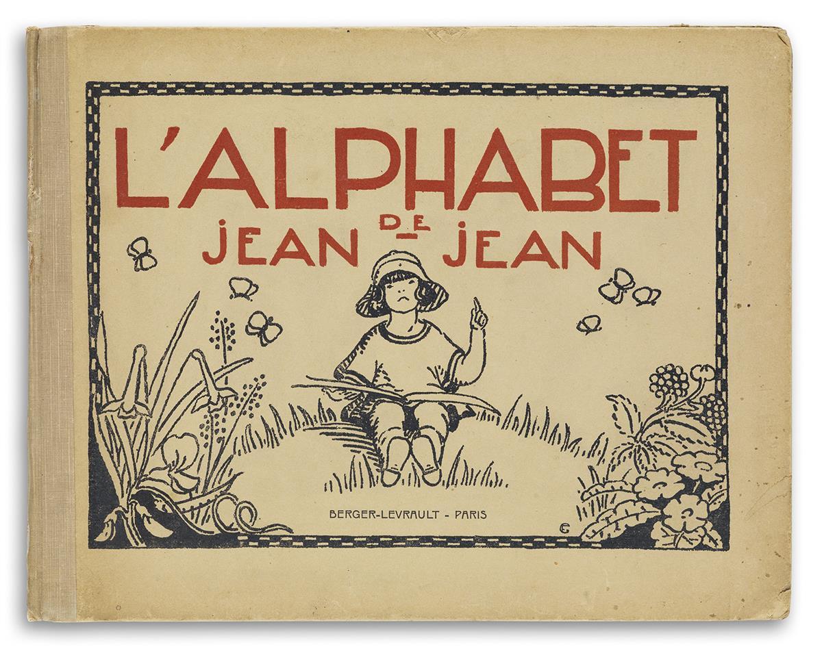 (ALPHABET-BOOK--CHILDRENS-BOOKS)-LAlphabet-de-Jean-Jean