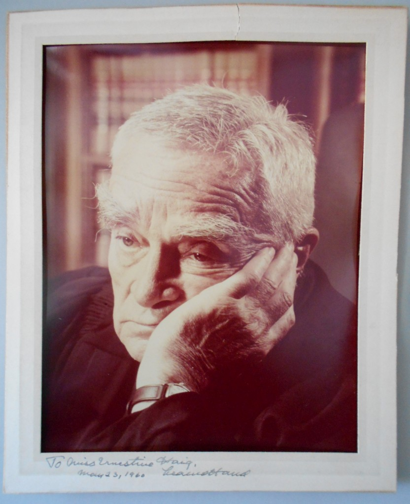 (SUPREME-COURT)-HAND-LEARNED-Photograph-Signed-and-Inscribed