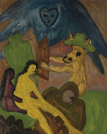 BOB THOMPSON (1937 - 1966) Untitled (Figure Composition, After Goya).