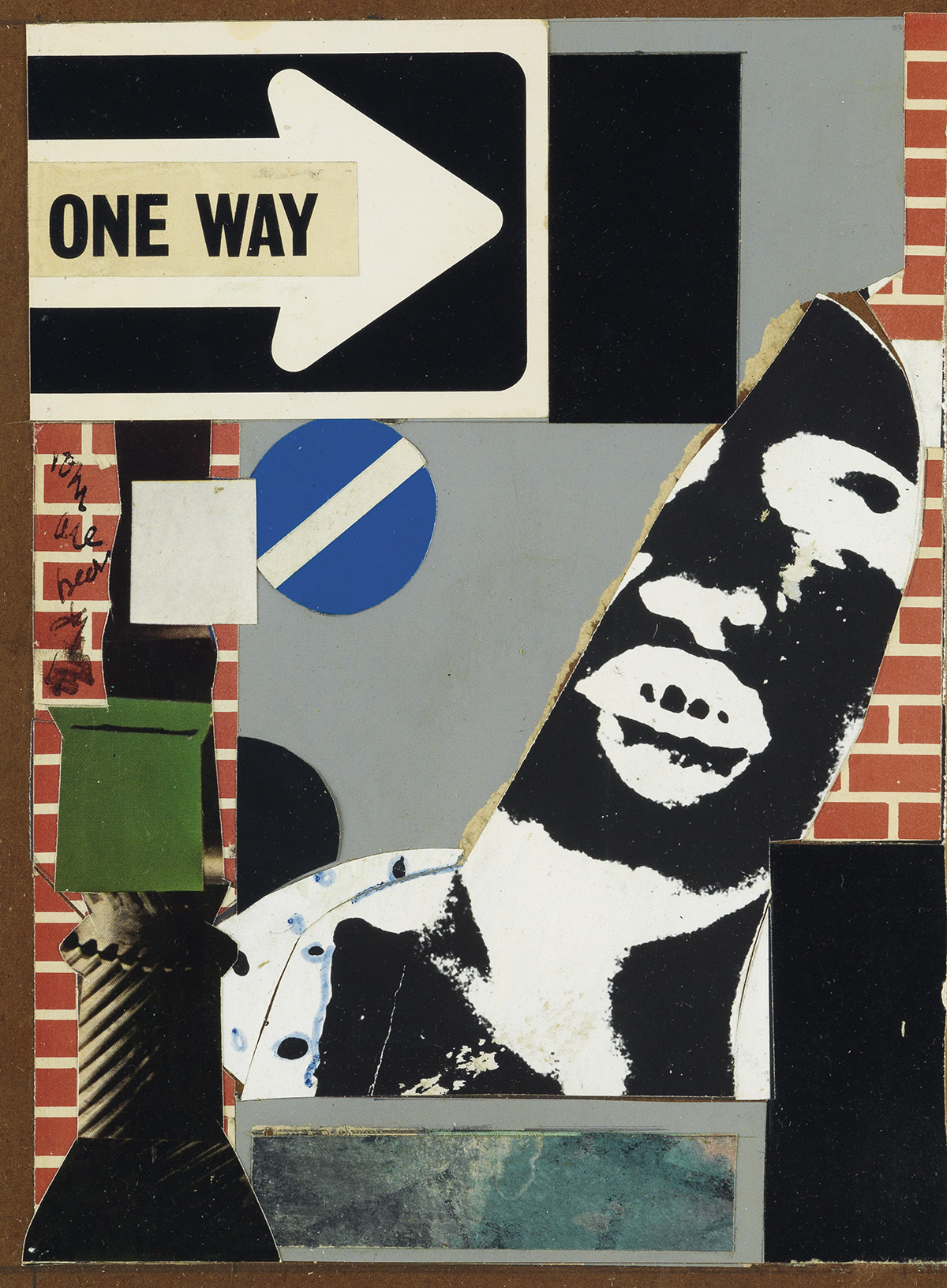 ROMARE BEARDEN (1911 - 1988) Untitled (Street Scene).