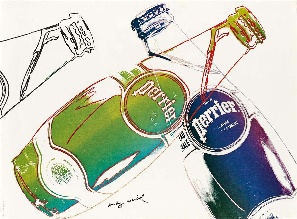 ANDY-WARHOL-Perrier-(White)