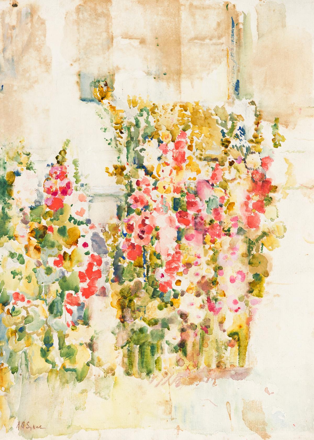 ANNIE GOODING SYKES Gladiolus Garden.