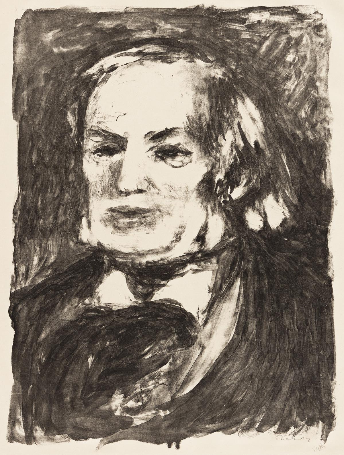 PIERRE-AUGUSTE RENOIR Richard Wagner.