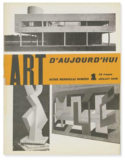 (ART JOURNALS.) Bloc, André; Pillet, Edgar; and Faucheux, Pierre, Editors. Art d''Aujourd''hui, Revue Mensuelle. July 1949-December