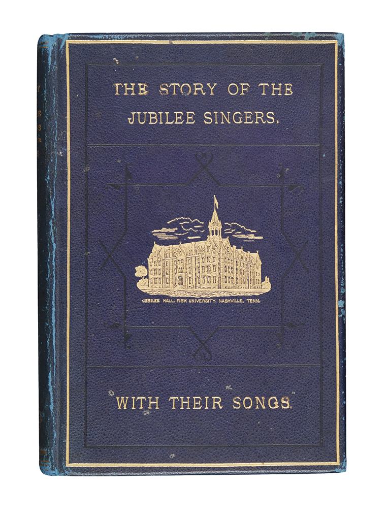 (MUSIC.) [Marsh, J.B.T.] The Story of the Jubilee Singers with their Songs.