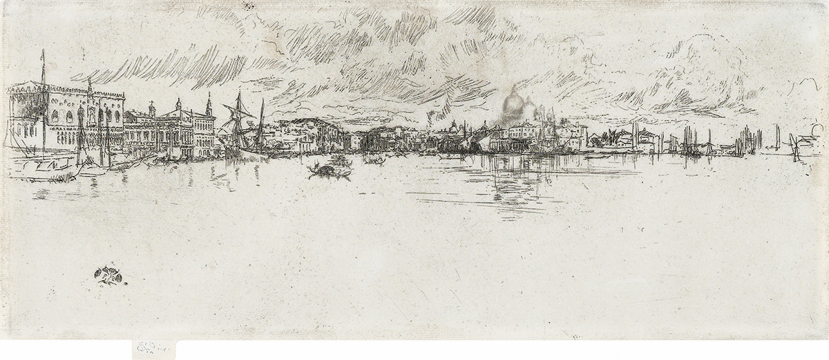 JAMES A. M. WHISTLER Long Venice.