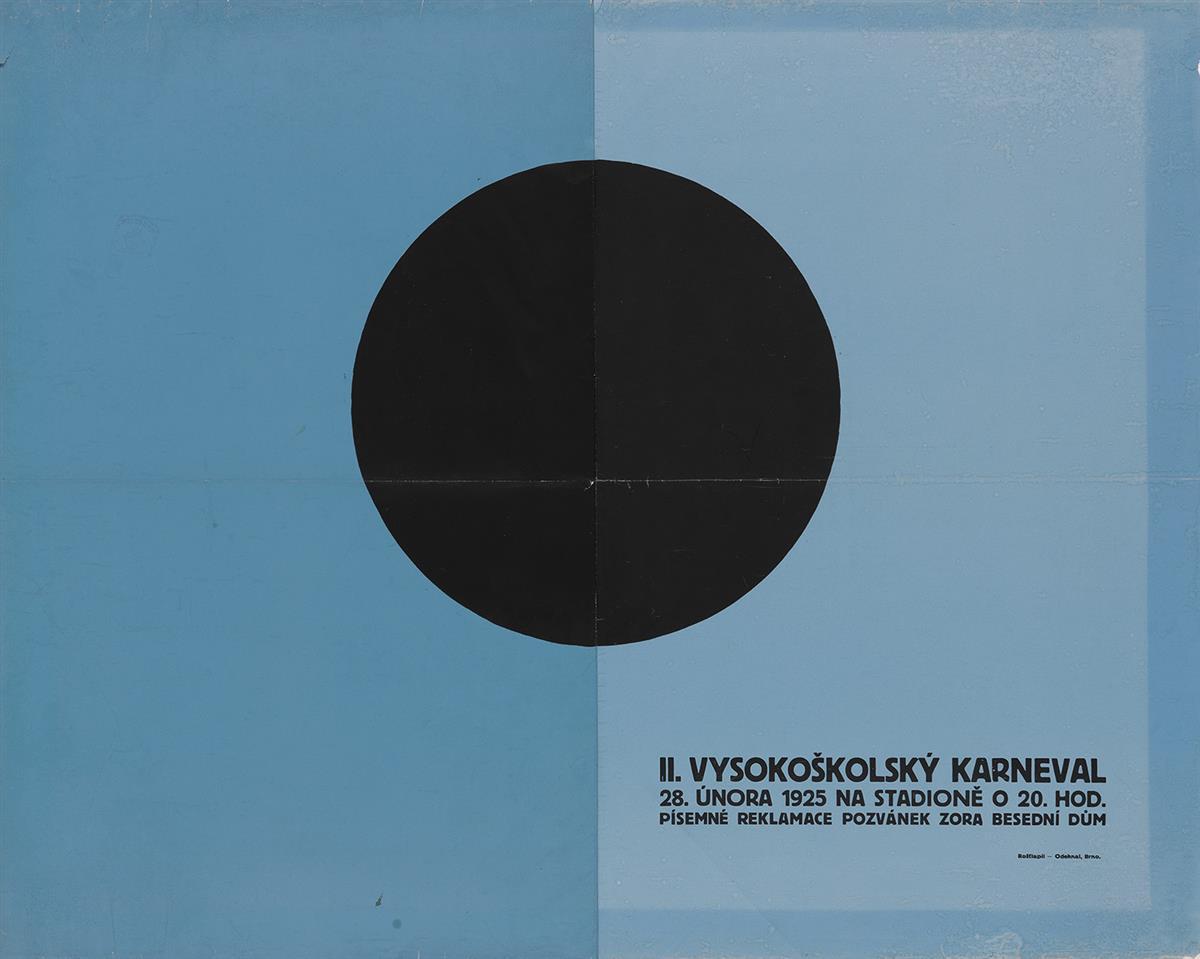 VACLAV-ROSTLAPIL-(1901-1979)-II-VYSOKOSKOLSKY-KARNEVAL-1925-