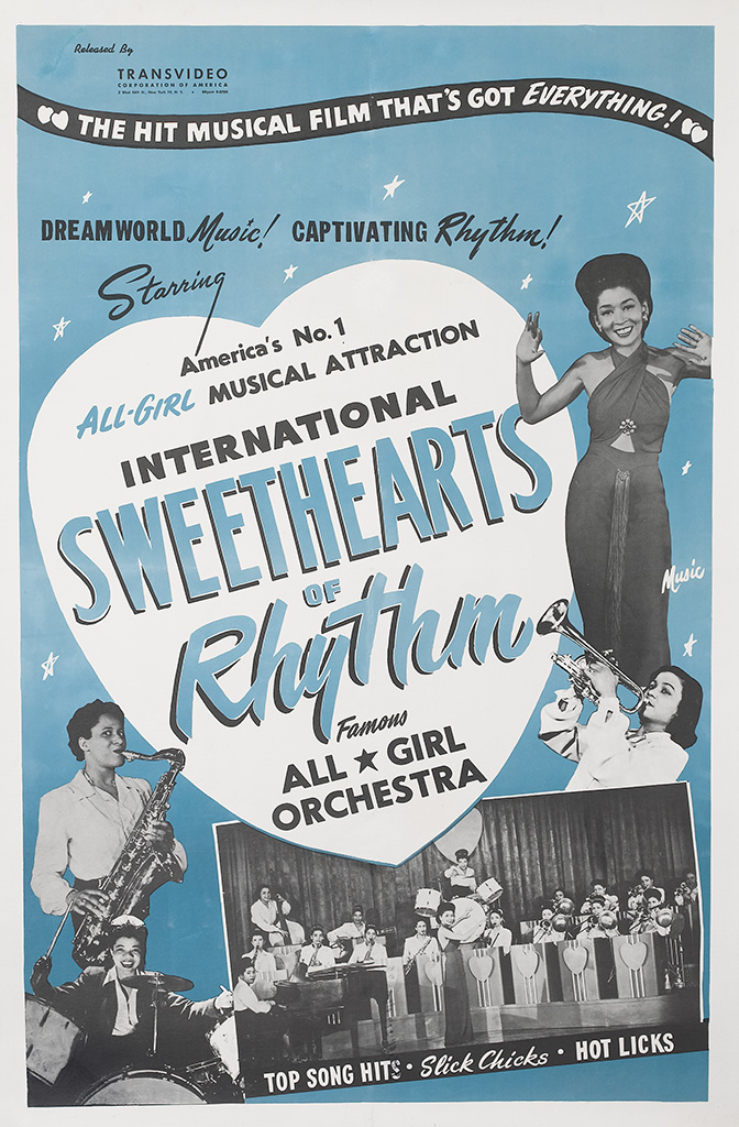 (FILM.) MUSICAL. International Sweethearts of Rhythm, Famous All Girl Orchestra.