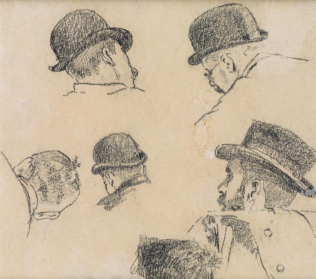 WINSLOW-HOMER-Studies-of-Men-in-Hats