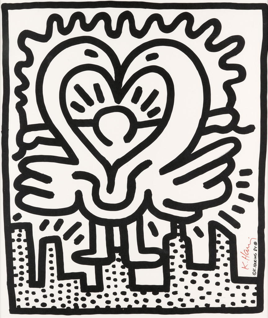 KEITH HARING Kutztown Connection.