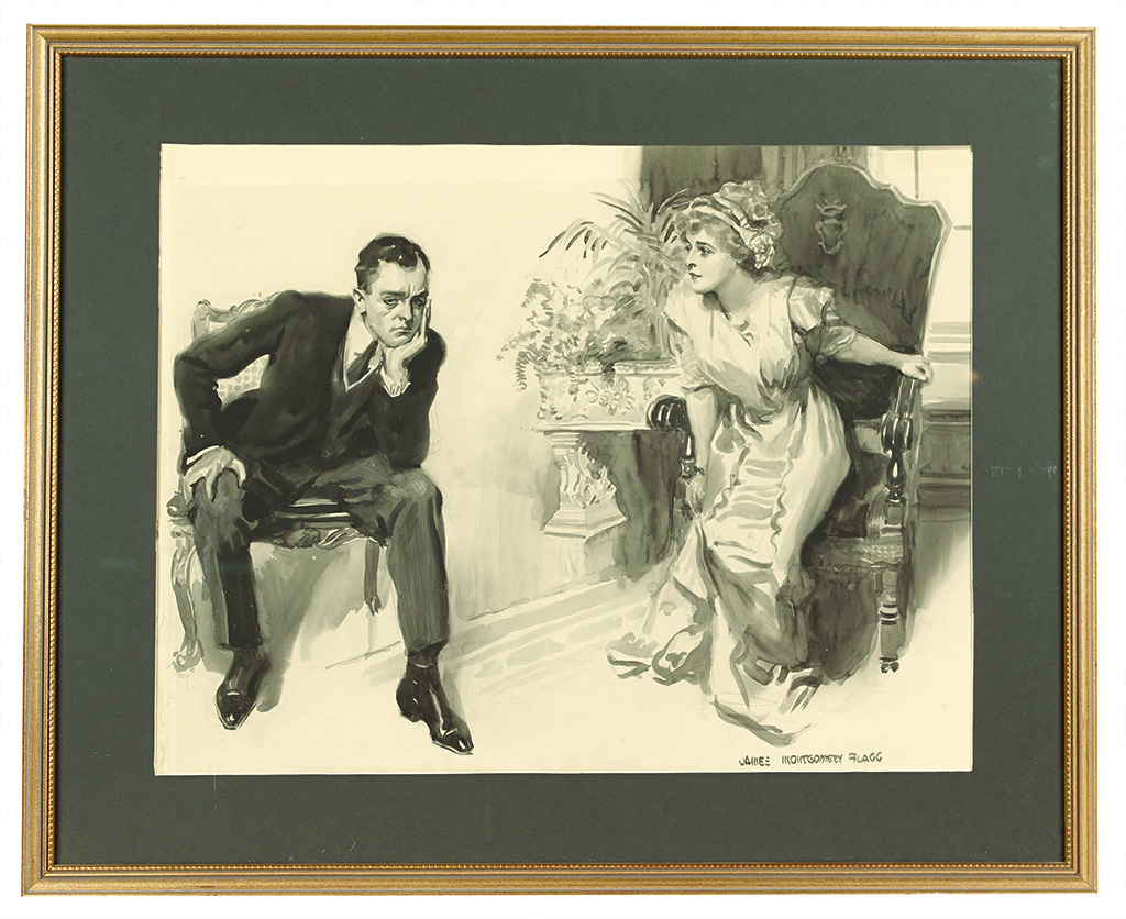 JAMES MONTGOMERY FLAGG. $30,000 Would Make It Absolutely Certain.
