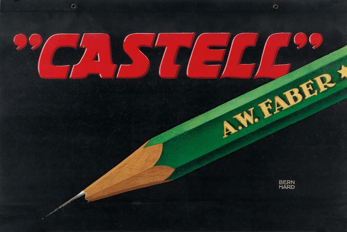 LUCIAN-BERNHARD-(1883-1972)-CASTELL--AW-FABER-1908-11x17-inc