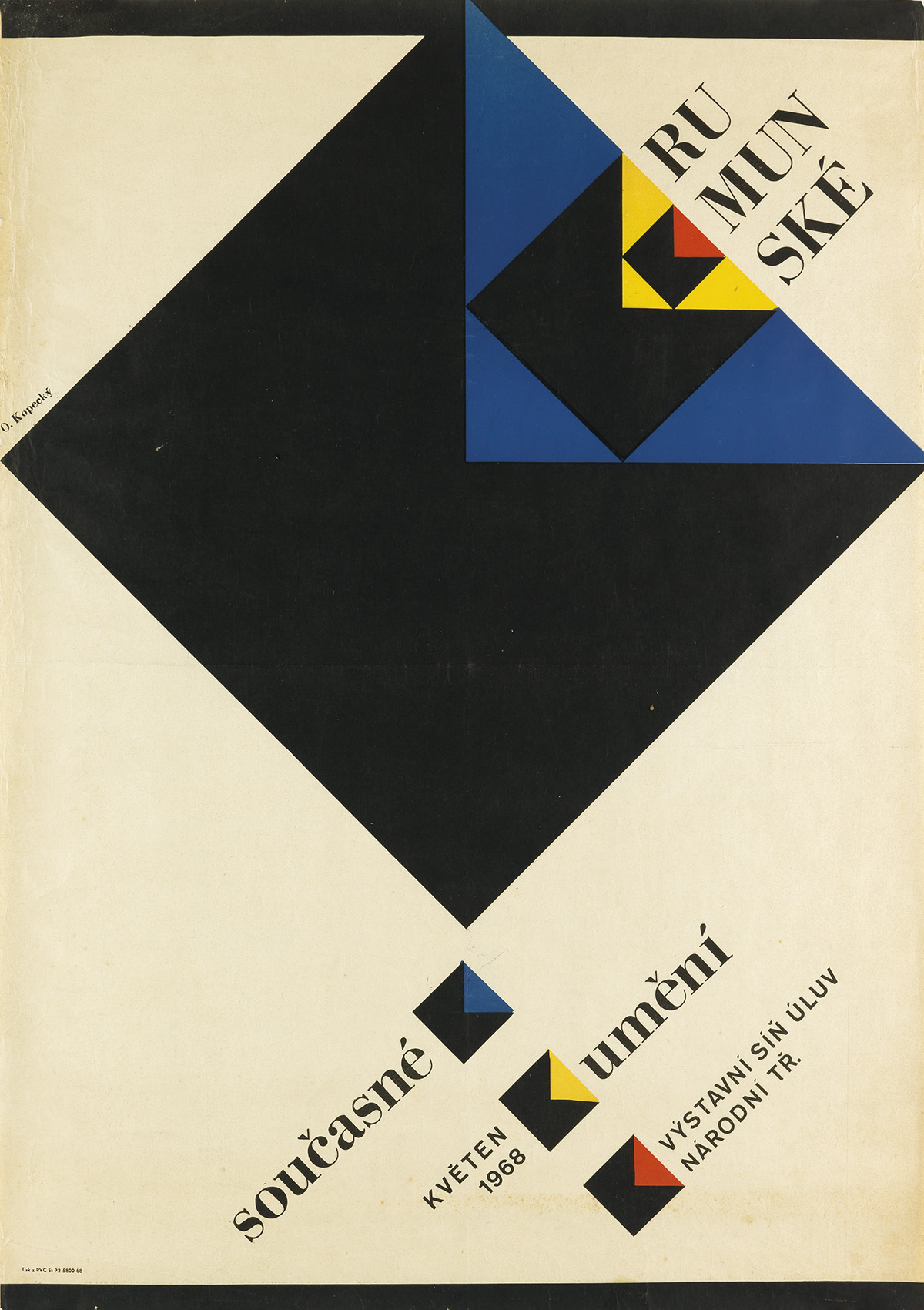 VARIOUS-ARTISTS-[CZECH-EXHIBITIONS]-Group-of-3-posters-1940s
