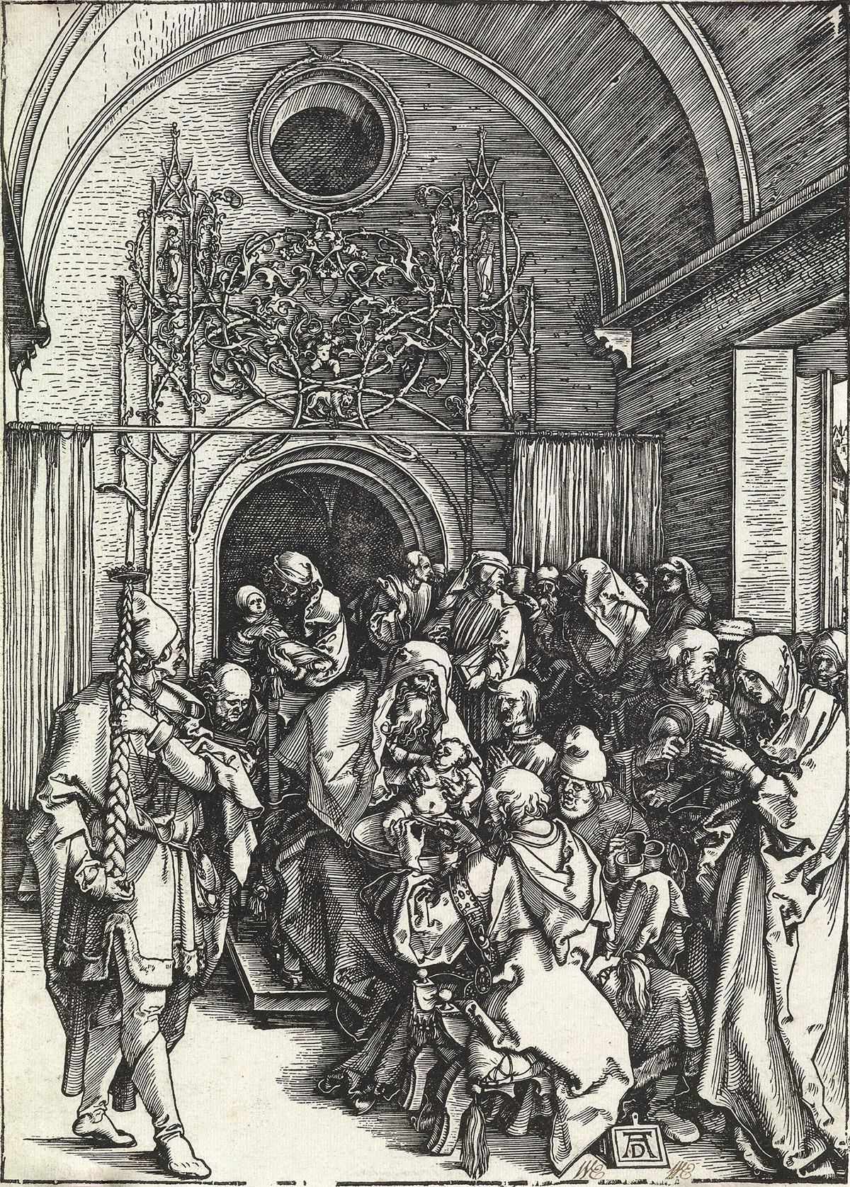 ALBRECHT-DÜRER-The-Circumcision
