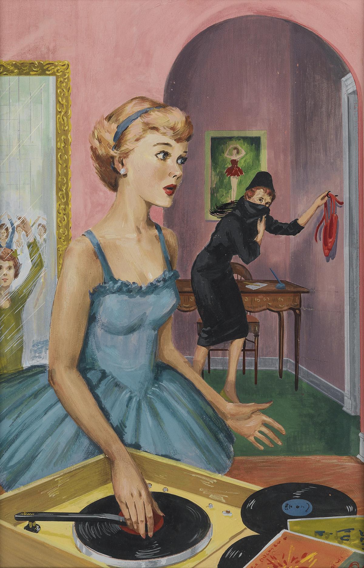 (NANCY DREW / MYSTERY) POLLY BOLIAN. The Scarlet Slipper Mystery.