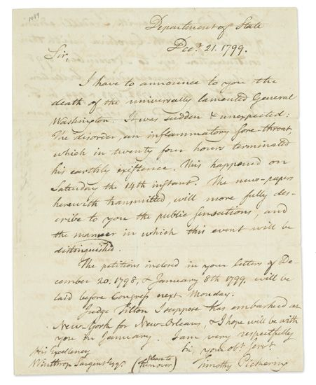 PICKERING-TIMOTHY-Autograph-Letter-Signed-twice-as-Secretary