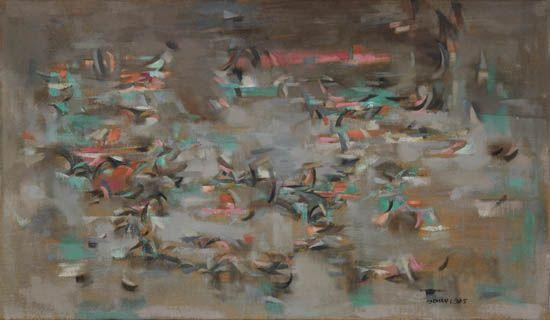 NORMAN LEWIS (1909 - 1979) Birds.
