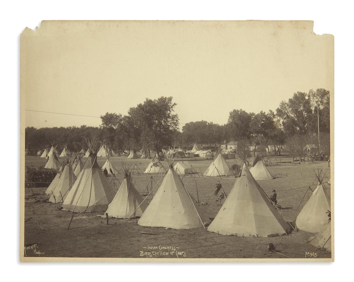 (AMERICAN-INDIANS--PHOTOGRAPHS)-Rinehart-Frank-A-Indian-Cong