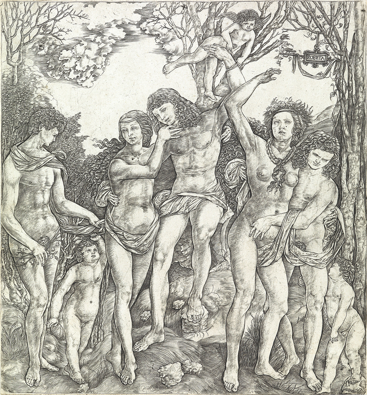 CRISTOFANO DI MICHELE MARTINI, IL ROBETTA Allegory of Carnal Love.
