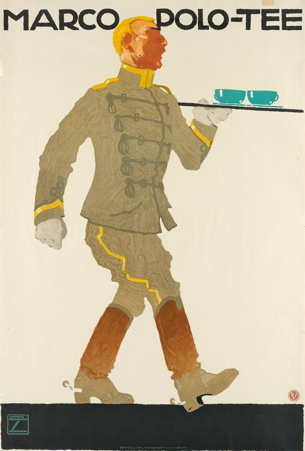 LUDWIG-HOHLWEIN-(1874-1949)-MARCO-POLO---TEE-Circa-1914-43x2