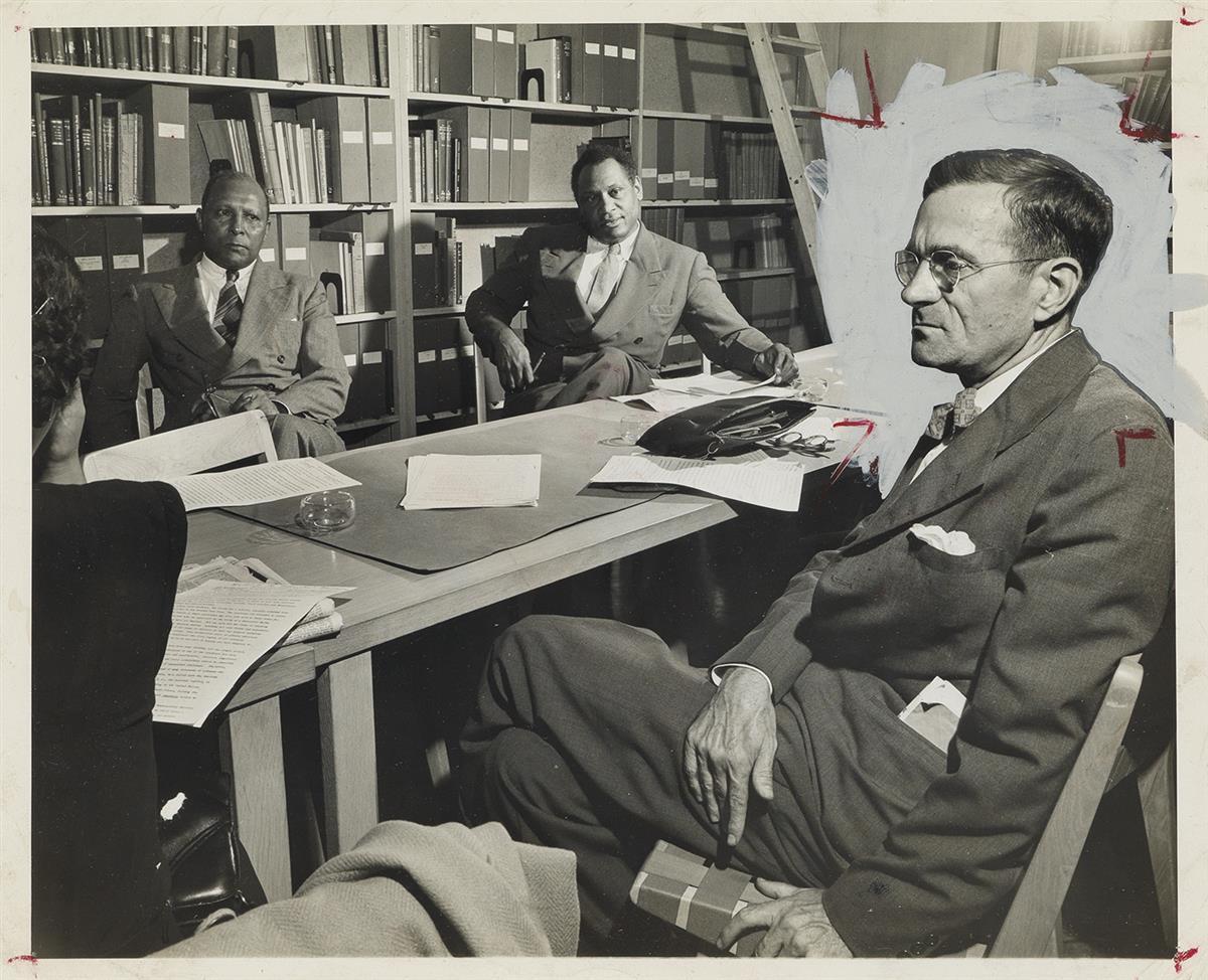 MORRIS-ENGEL-(1918-2005)-Paul-Robeson-and-Aubrey-Williams-(p