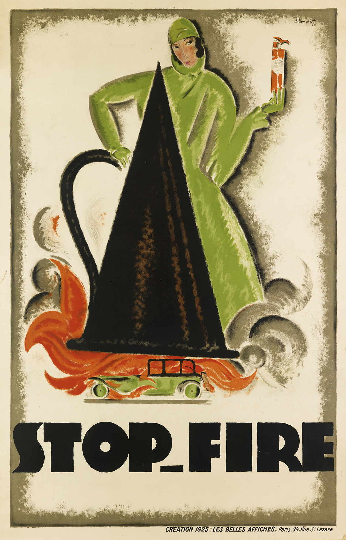 CHARLES-LOUPOT-(1892-1962)-STOP---FIRE-1925-76x49-inches-198