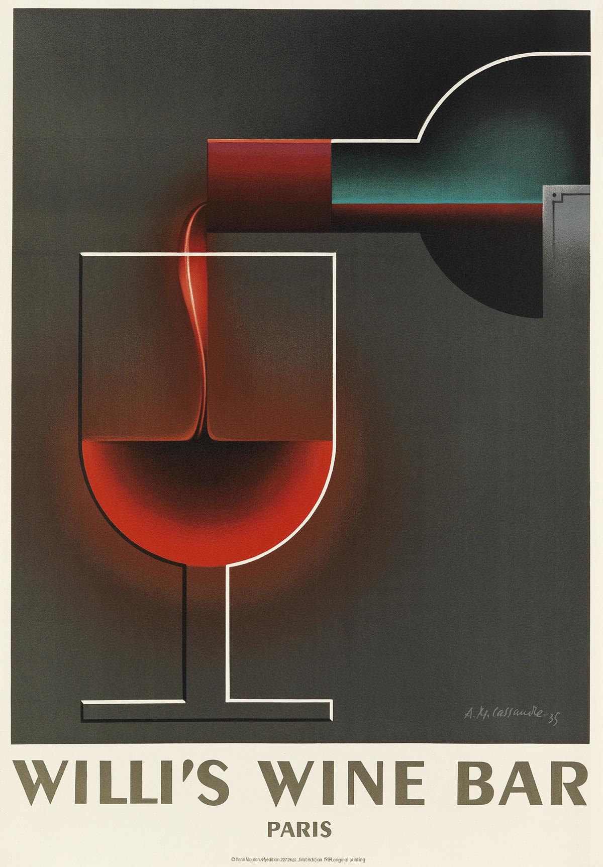 DAPRÈS-ADOLPHE-MOURON-CASSANDRE-(1901-1968)-WILLIS-WINE-BAR-