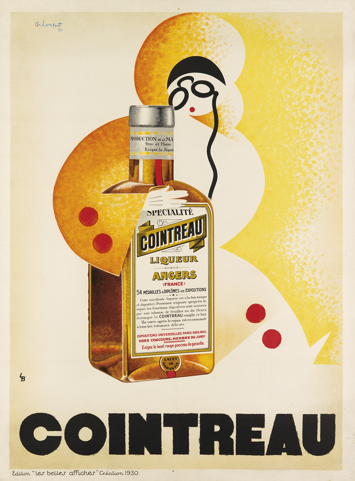 CHARLES-LOUPOT-(1892-1962)-COINTREAU-1930-63x47-inches-160x1
