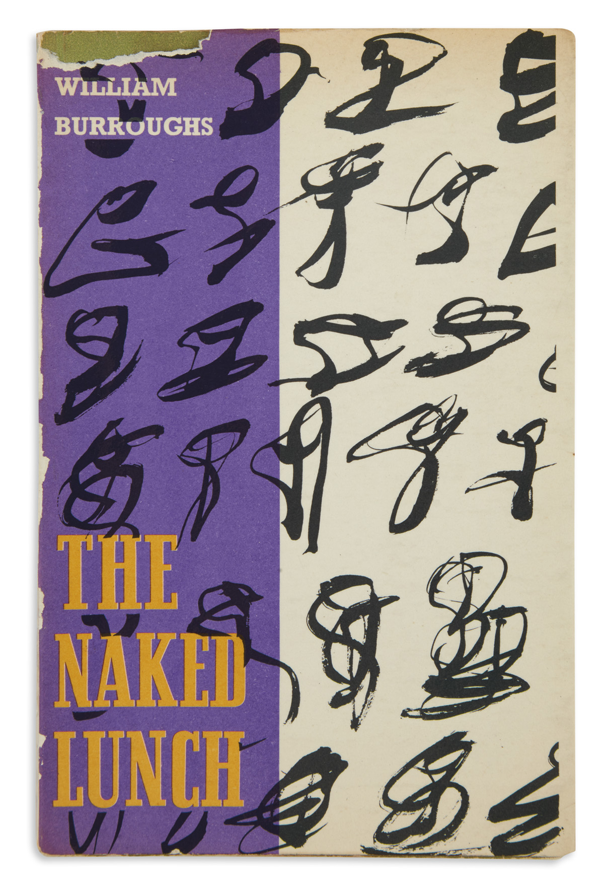 BURROUGHS, WILLIAM S. The Naked Lunch.