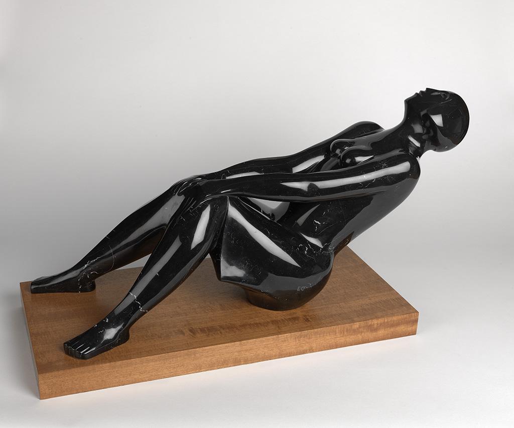 ELIZABETH CATLETT (1915 - 2012) Reclined Figure.