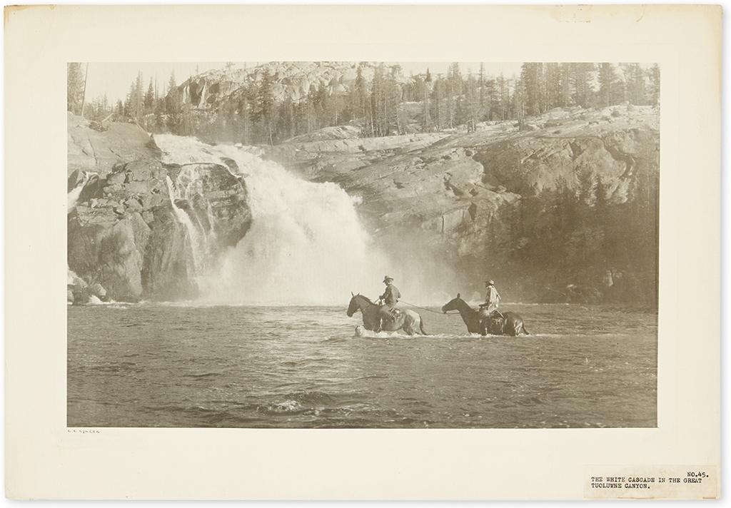 (CALIFORNIA.) Clarke, Clinton C. Portfolio of photographs of the Sierra Nevada Mountain Range.
