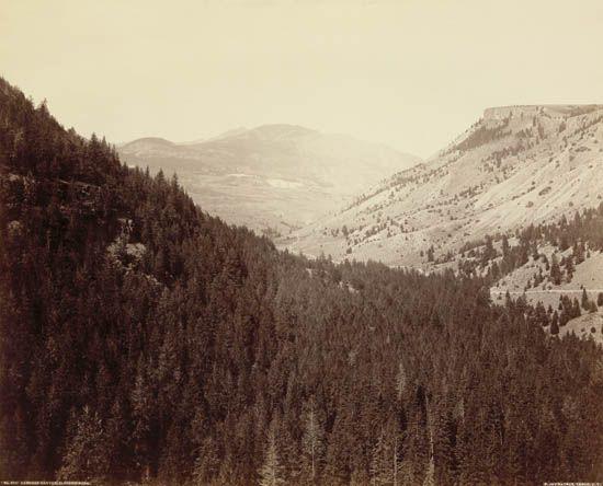 HAYNES-F-JAY-(1853-1921)-Gardner-Canyon-Electric-Peak