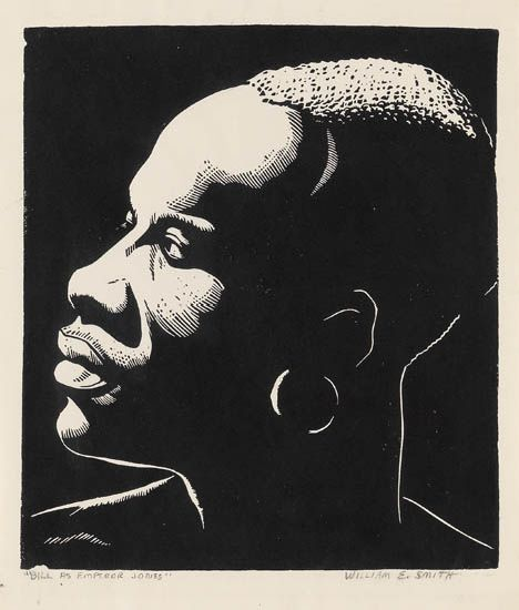 WILLIAM-E-SMITH-(1913---1997)-Bill-as-Emperor-Jones