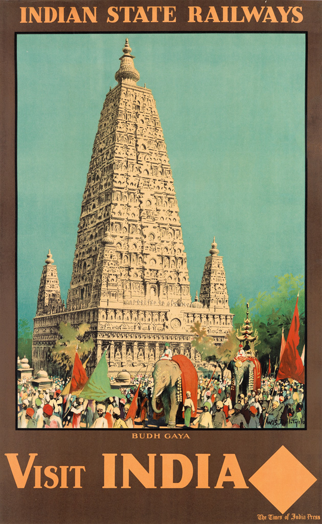 WILLIAM-SPENCER-BAGDATOPOULOS-(1888-1965)-VISIT-INDIA--BUDH-