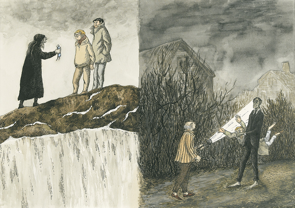 EDWARD GOREY. The Drum, the Doll, and the Zombie.