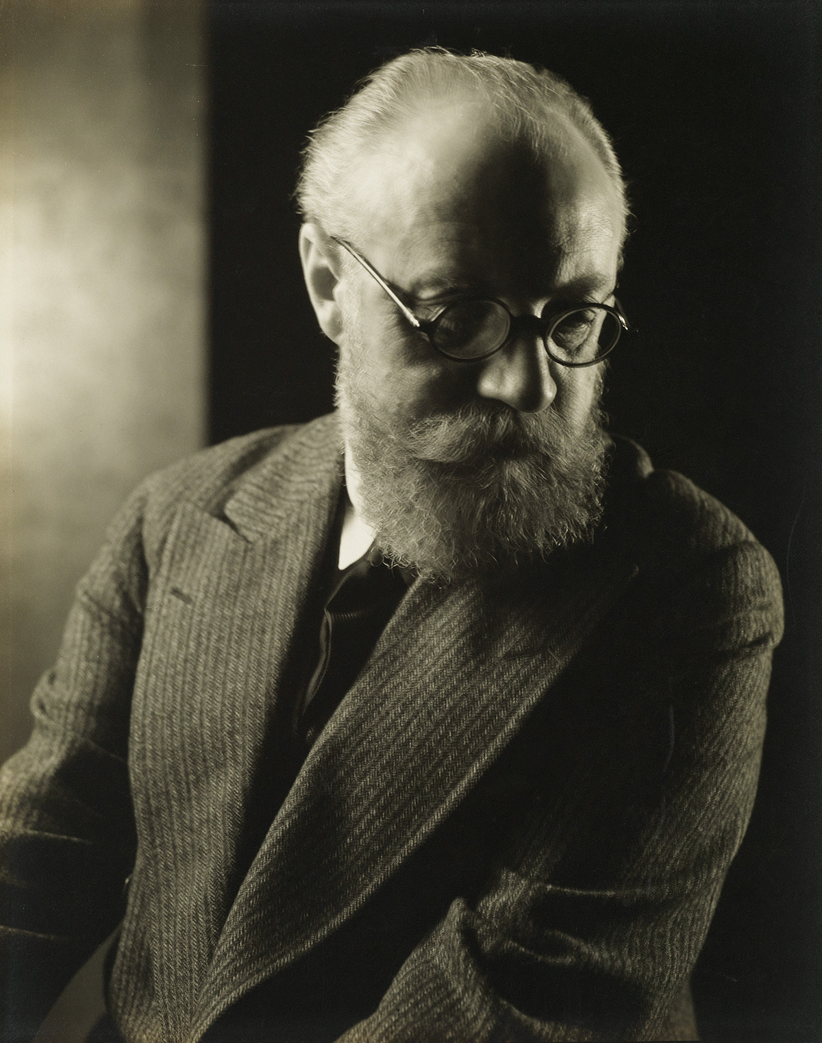 EDWARD STEICHEN (1879-1973) Portrait of Henri Matisse.