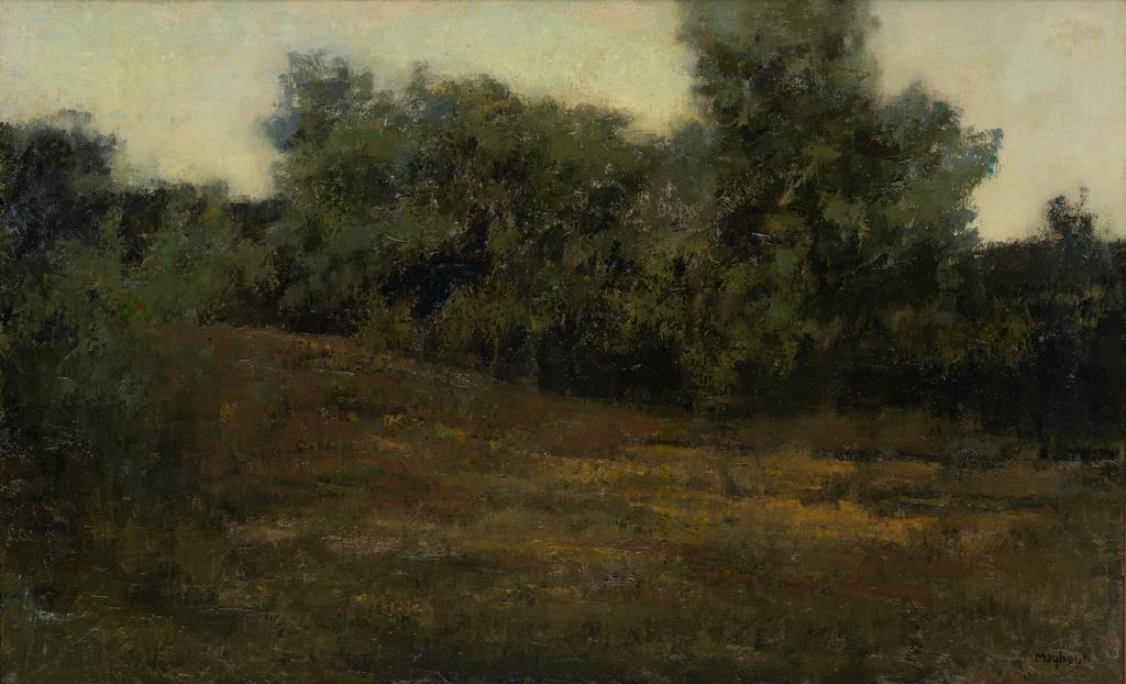 RICHARD MAYHEW (1924 -   ) New Hampshire Valley.
