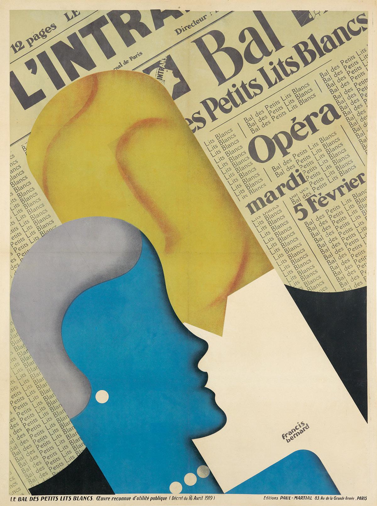 FRANCIS-BERNARD-(1900-1979)-BAL-DES-PETITS-LITS-BLANCS-1929-
