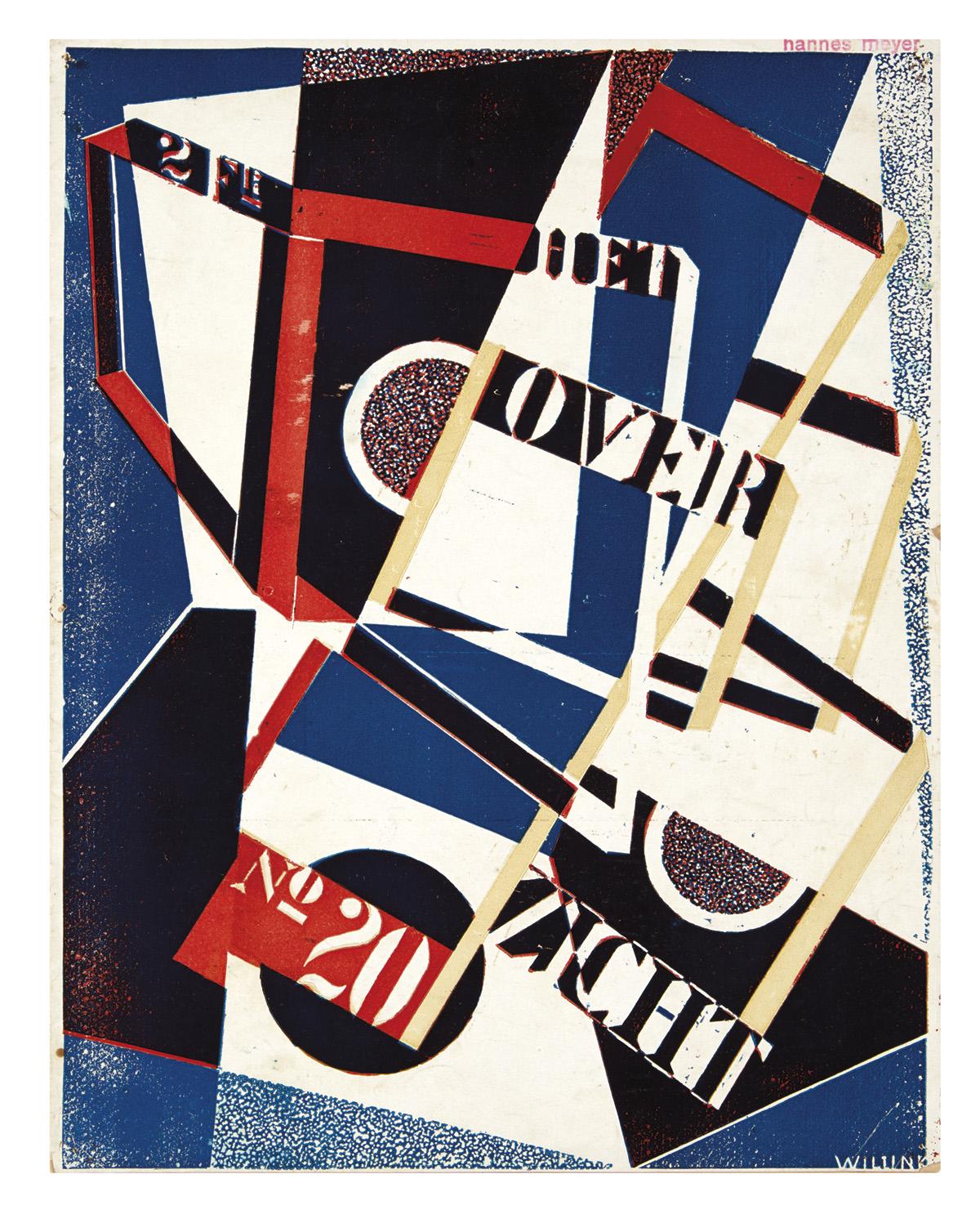 SEUPHOR, MICHEL [pseud. of F.L. Berckelaers]; and JOZEF PEETERS. Het Overzicht. Number 20, January 1924.